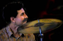 Roy Gonzales, percussion and smiles